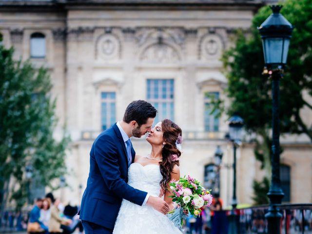 Le mariage de Gautier et Amira à Paris, Paris 39