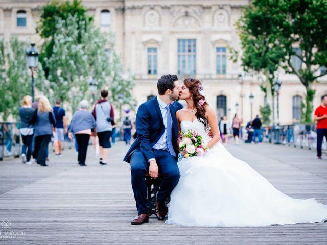 Le mariage de Gautier et Amira à Paris, Paris 40