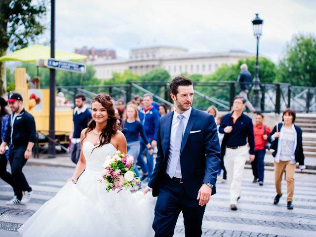 Le mariage de Gautier et Amira à Paris, Paris 41