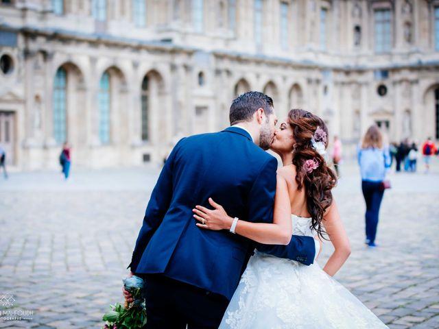 Le mariage de Gautier et Amira à Paris, Paris 42