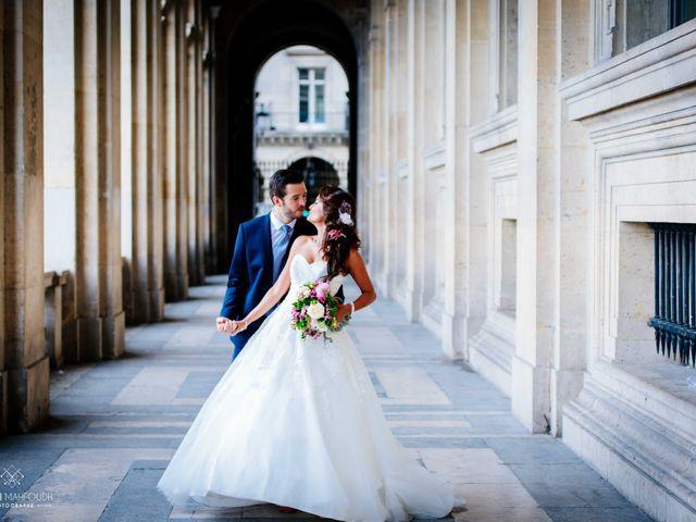 Le mariage de Gautier et Amira à Paris, Paris 44