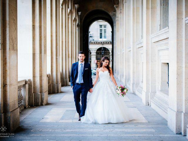 Le mariage de Gautier et Amira à Paris, Paris 45
