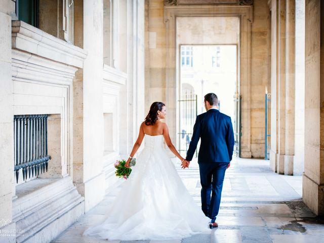 Le mariage de Gautier et Amira à Paris, Paris 46