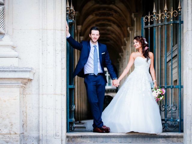 Le mariage de Gautier et Amira à Paris, Paris 47