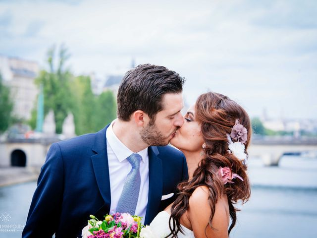 Le mariage de Gautier et Amira à Paris, Paris 48