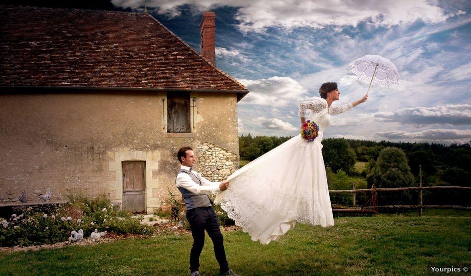 Le mariage de Jonathan et Jessica à Sèvres-Anxaumont, Vienne