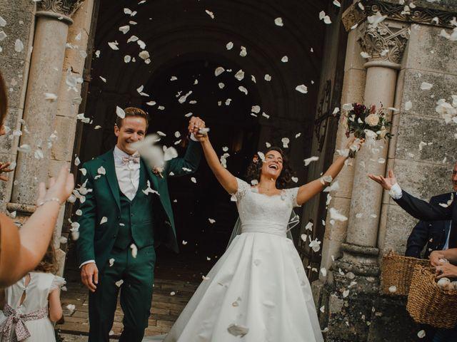 Le mariage de Jean-Baptiste et Pernelle à Lignan-de-Bordeaux, Gironde 2