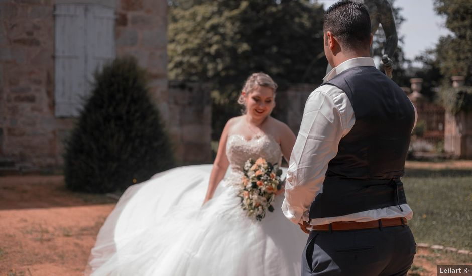 Le mariage de Ibrahim et Lauréline à Firminy, Loire