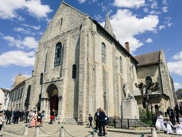 Le mariage de Jérémy et Sophie à La Ferté-Alais, Essonne 91