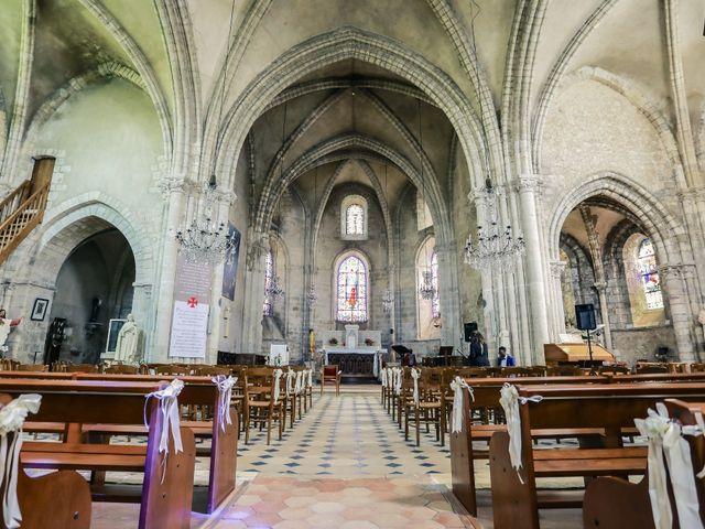 Le mariage de Jérémy et Sophie à La Ferté-Alais, Essonne 92