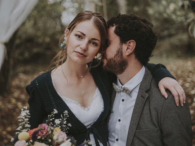 Le mariage de Julien et Justine à Choué, Loir-et-Cher 1