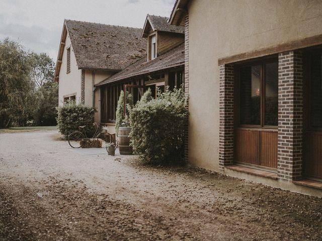 Le mariage de Julien et Justine à Choué, Loir-et-Cher 86