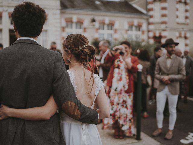 Le mariage de Julien et Justine à Choué, Loir-et-Cher 89