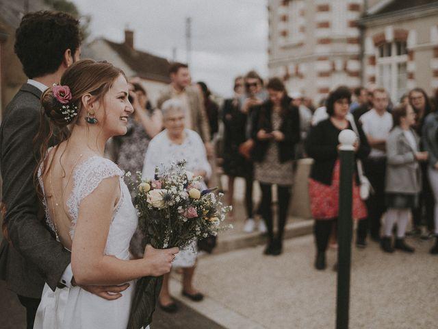 Le mariage de Julien et Justine à Choué, Loir-et-Cher 90