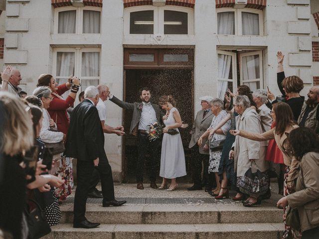 Le mariage de Julien et Justine à Choué, Loir-et-Cher 91