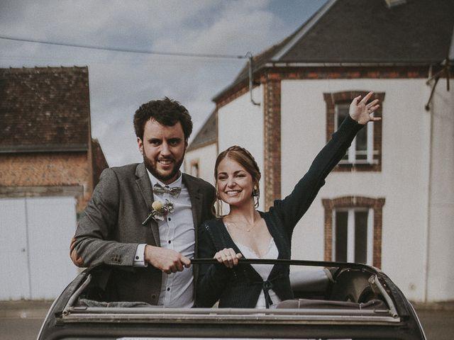Le mariage de Julien et Justine à Choué, Loir-et-Cher 93