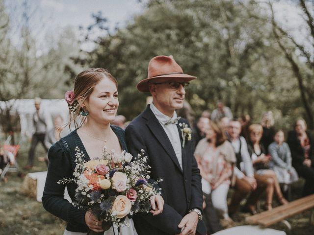Le mariage de Julien et Justine à Choué, Loir-et-Cher 94
