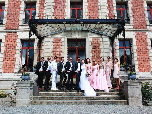 Le mariage de Yohann et Célia à Saint-Laurent-les-Églises, Haute-Vienne 1