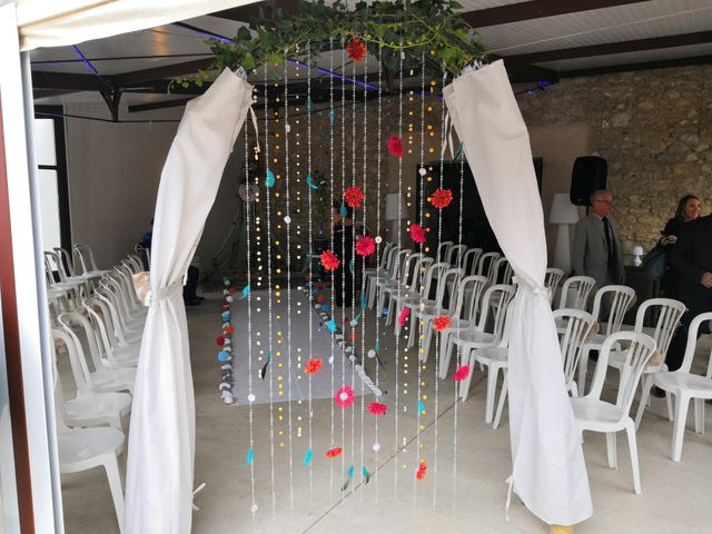 Le mariage de Rhadia et Simon à Bassan, Hérault 3