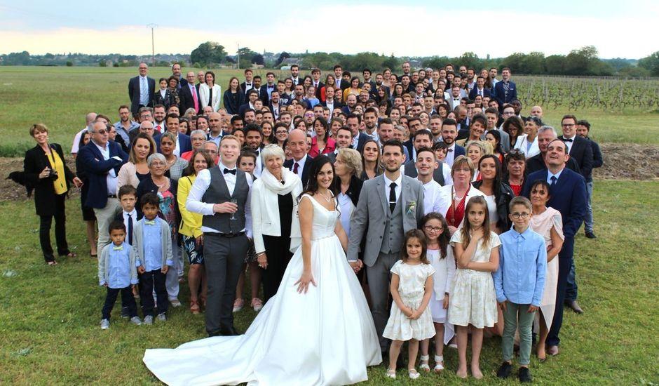 Le mariage de Jonathan et Lucille à Martigné-Briand, Maine et Loire