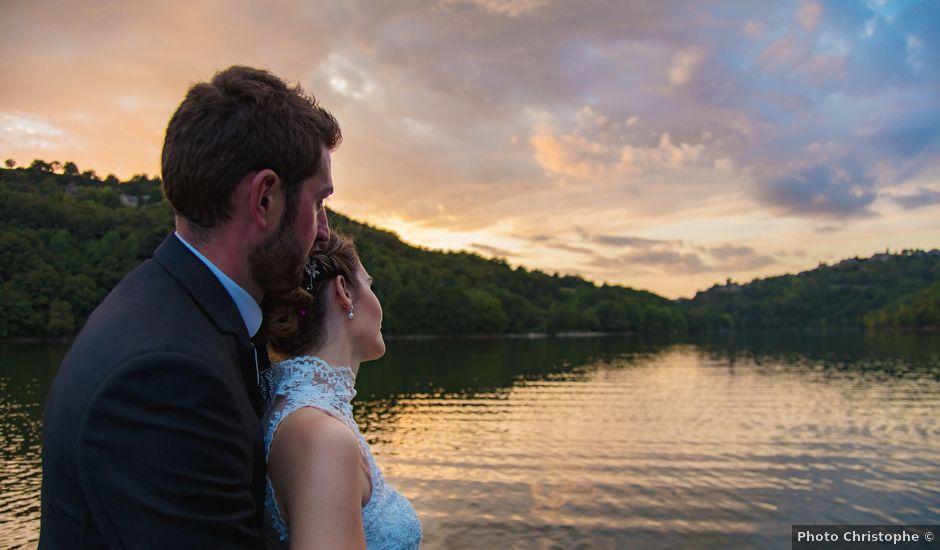 Le mariage de Cyril et Cindy à Espalion, Aveyron