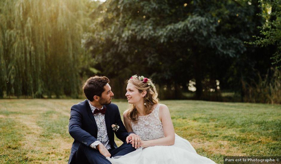 Le mariage de Tom et Eve à Launac, Haute-Garonne