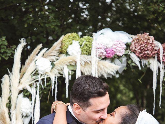 Le mariage de Aurélien et Afsanat à Dangu, Eure 55