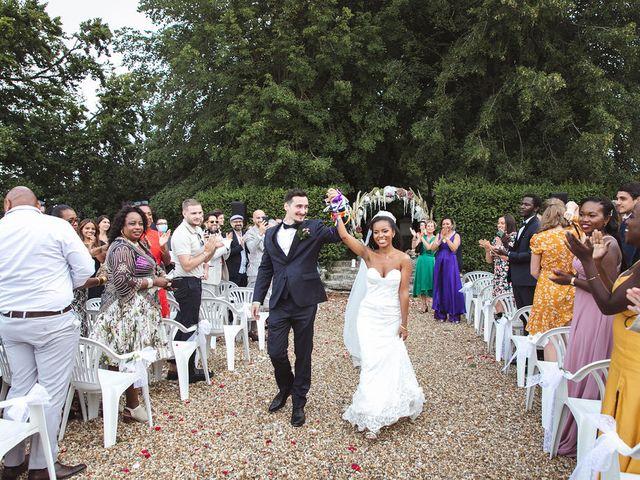 Le mariage de Aurélien et Afsanat à Dangu, Eure 57