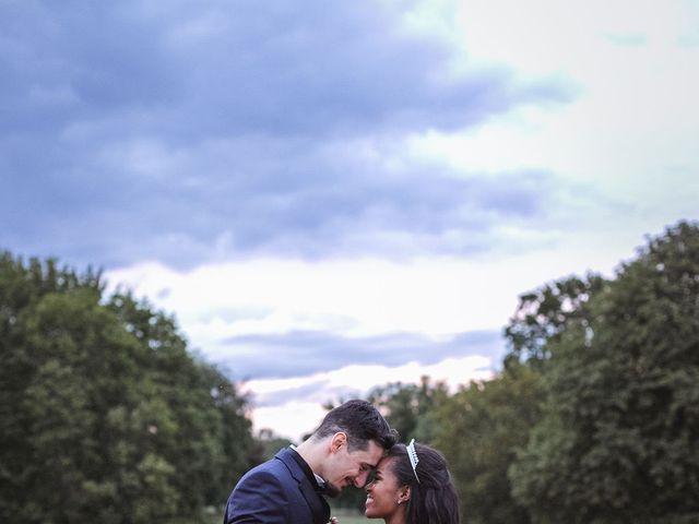 Le mariage de Aurélien et Afsanat à Dangu, Eure 66