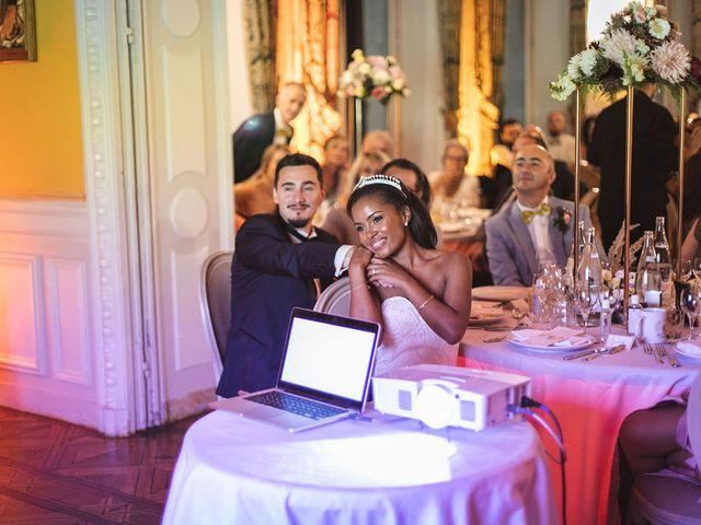 Le mariage de Aurélien et Afsanat à Dangu, Eure 76