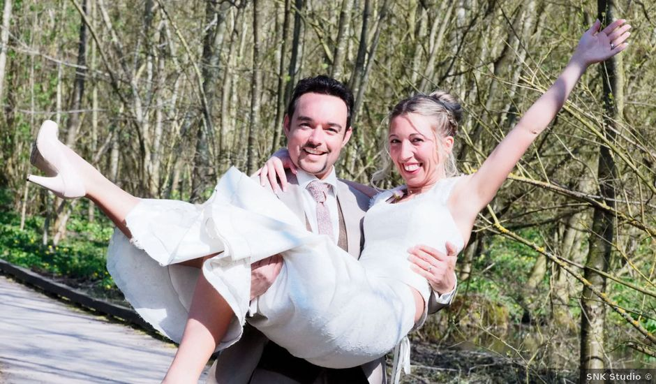 Le mariage de David et Kelly à Anstaing, Nord
