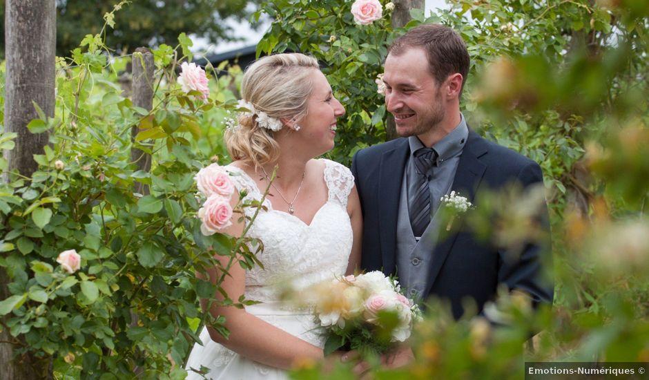 Le mariage de Geoffrey et Aline à Hazebrouck, Nord