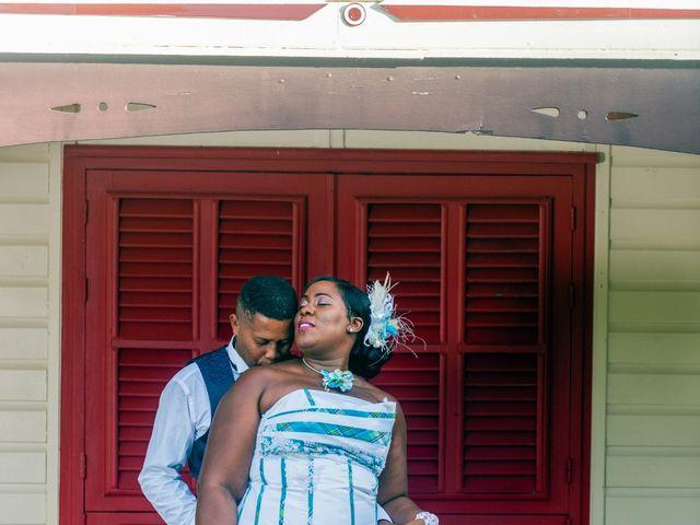 Le mariage de Jean et Annael à Sainte-Luce, Martinique 1