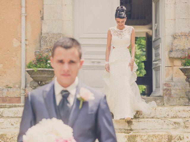Le mariage de kevin et Lucie à Saint-Aulaye, Dordogne 1