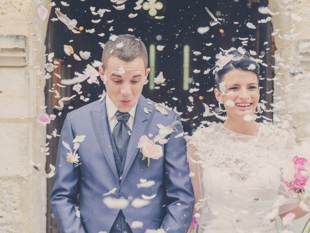 Le mariage de kevin et Lucie à Saint-Aulaye, Dordogne 58