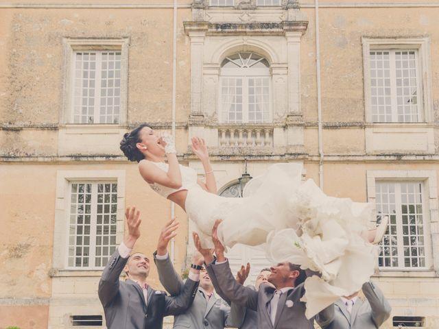 Le mariage de kevin et Lucie à Saint-Aulaye, Dordogne 75