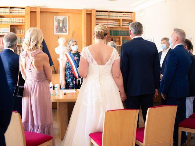 Le mariage de Olivier et Brigitte à Bécon-les-Granits, Maine et Loire 1