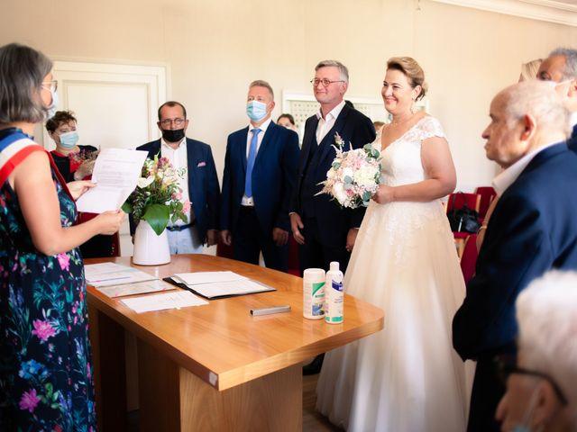 Le mariage de Olivier et Brigitte à Bécon-les-Granits, Maine et Loire 2