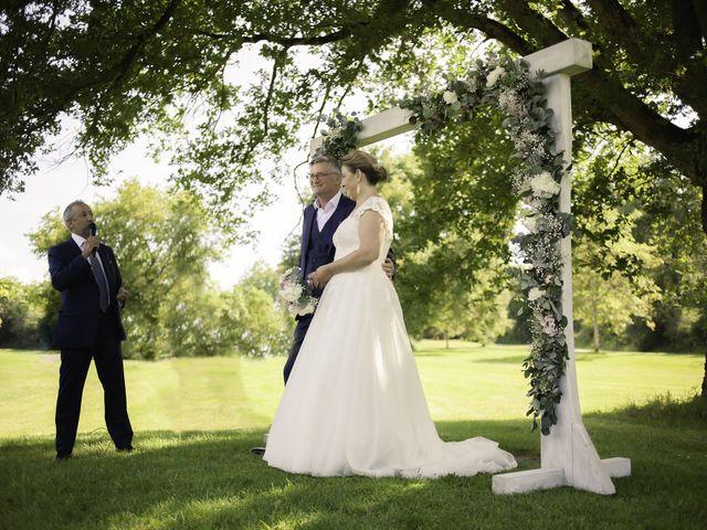Le mariage de Olivier et Brigitte à Bécon-les-Granits, Maine et Loire 13