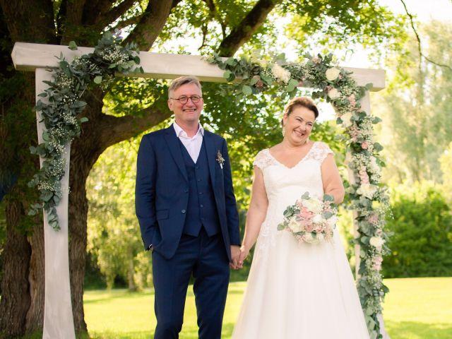 Le mariage de Olivier et Brigitte à Bécon-les-Granits, Maine et Loire 14
