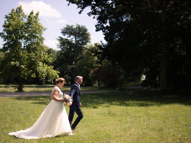 Le mariage de Olivier et Brigitte à Bécon-les-Granits, Maine et Loire 17