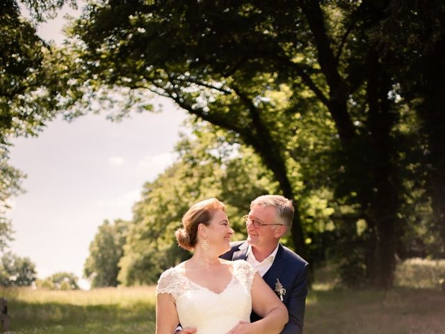 Le mariage de Olivier et Brigitte à Bécon-les-Granits, Maine et Loire 19