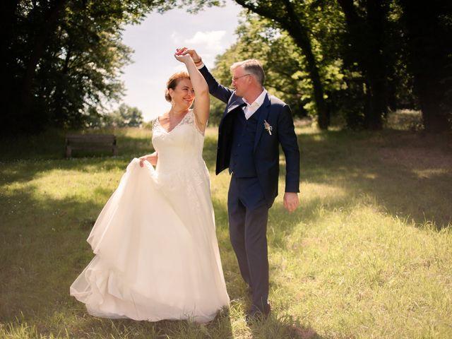 Le mariage de Olivier et Brigitte à Bécon-les-Granits, Maine et Loire 20
