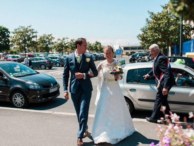 Le mariage de Fabien et Audrey à Cabourg, Calvados 1