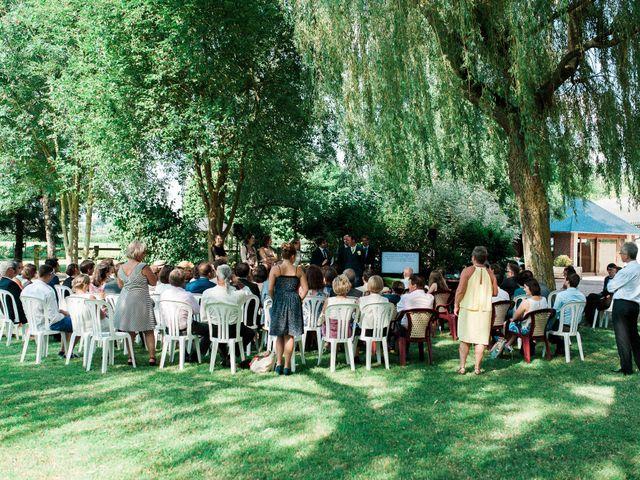 Le mariage de Fabien et Audrey à Cabourg, Calvados 27