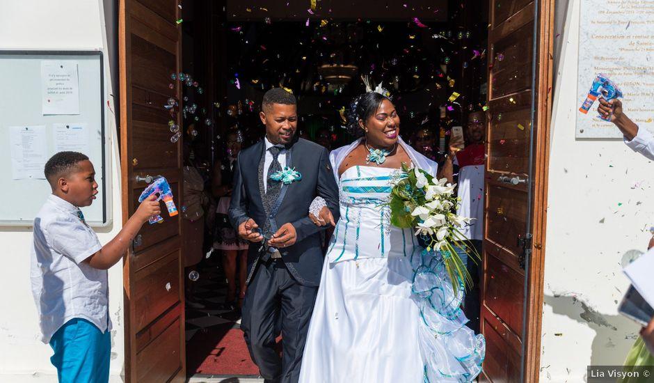 Le mariage de Jean et Annael à Sainte-Luce, Martinique