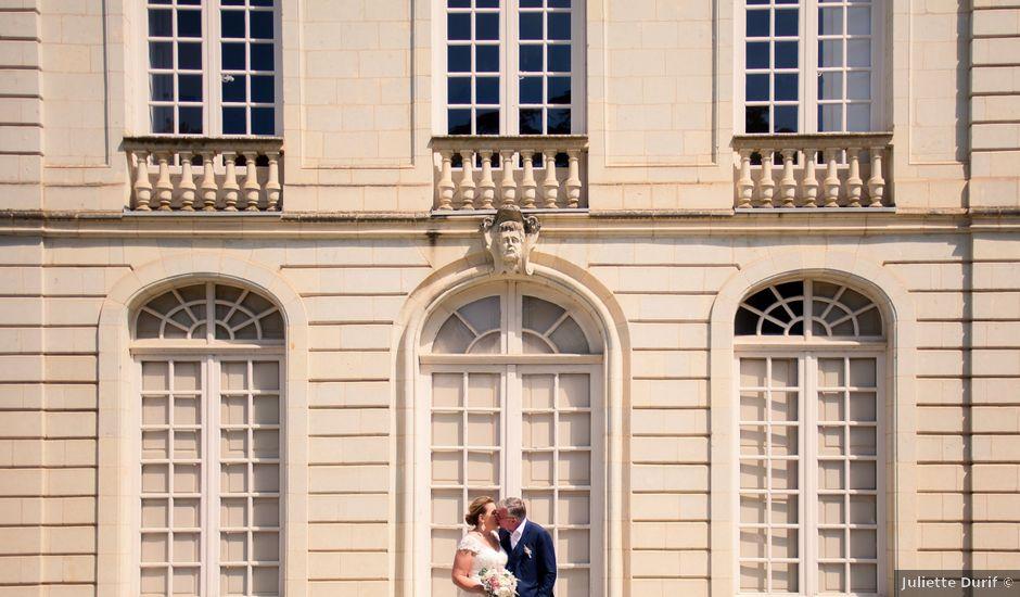 Le mariage de Olivier et Brigitte à Bécon-les-Granits, Maine et Loire