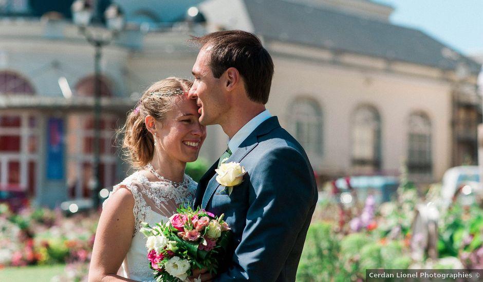 Le mariage de Fabien et Audrey à Cabourg, Calvados