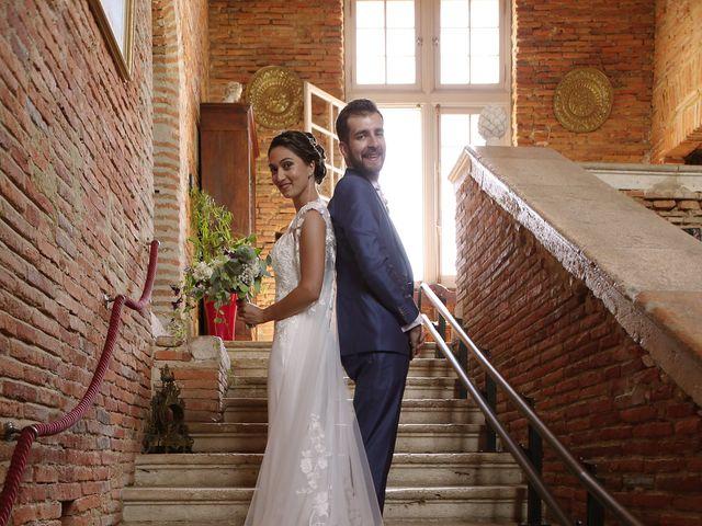 Le mariage de Guillaume et Emmeline à Launac, Haute-Garonne 34