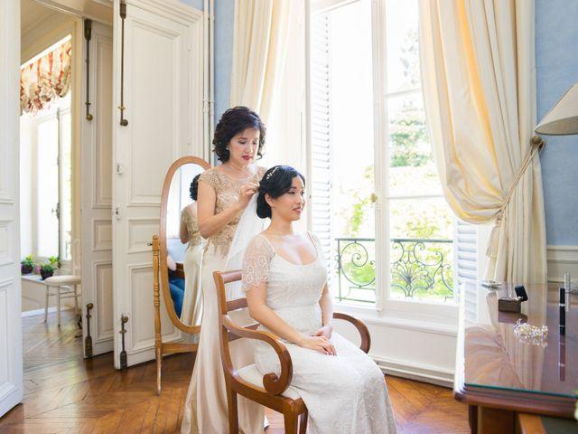 Le mariage de Jean Baptiste et Theresia à Paris, Paris 5